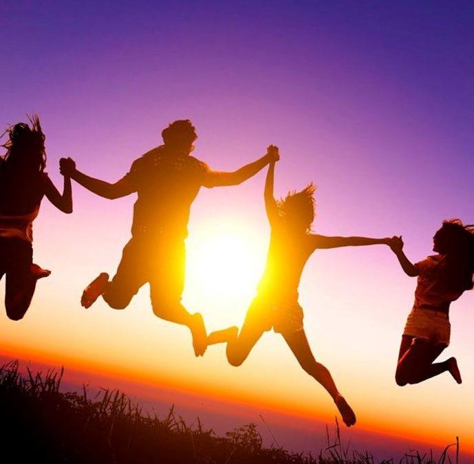 Vriendschap maakt gelukkig!